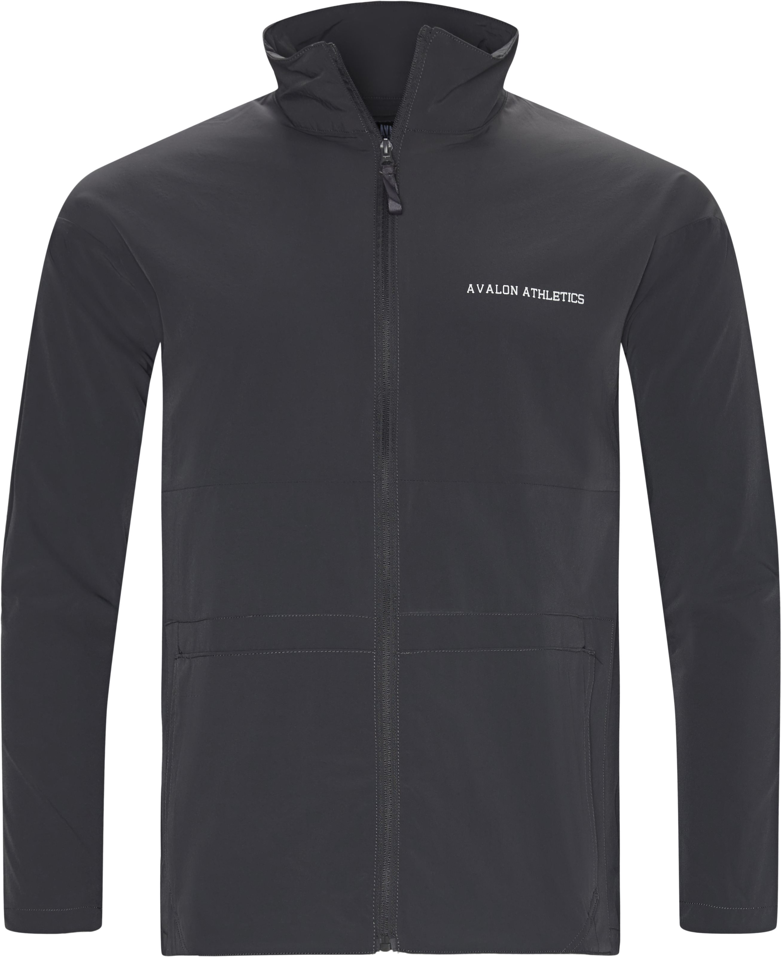 Phil Track Top - Jackets - Regular - Grey